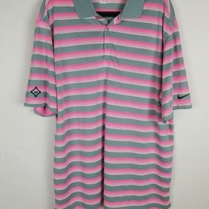 Nike Golf Tour Performance men's XL Gray pink